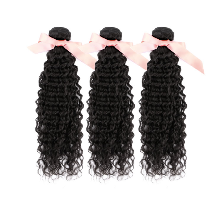 Deep Curly Malaysian Virgin Remy Hair Extensions 12 Inch To 32 Inch