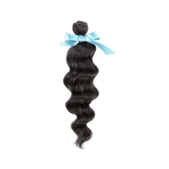Peruvian Virgin Remy Hair Extensions Loose Wave hair 12-26 inch Wholesale Price 100g