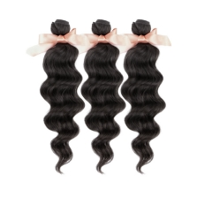 Malaysian Virgin Remy Hair Extensions Loose Wave Hair 3 Bundles 12-28 inch 300g Natural Black Factory Price On Sale