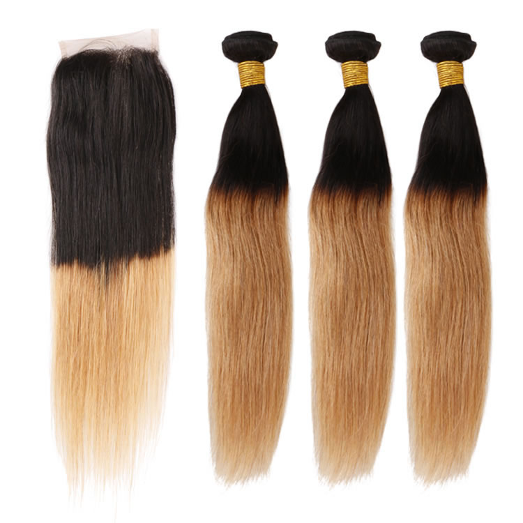 100 remy human straight hair 3 bundles 1b27 2 tone caramel 100 remy human straight hair 3 bundles 1b27 2 tone caramel blonde ombre hair extensions with 1pcs free part lace closure urmus Image collections