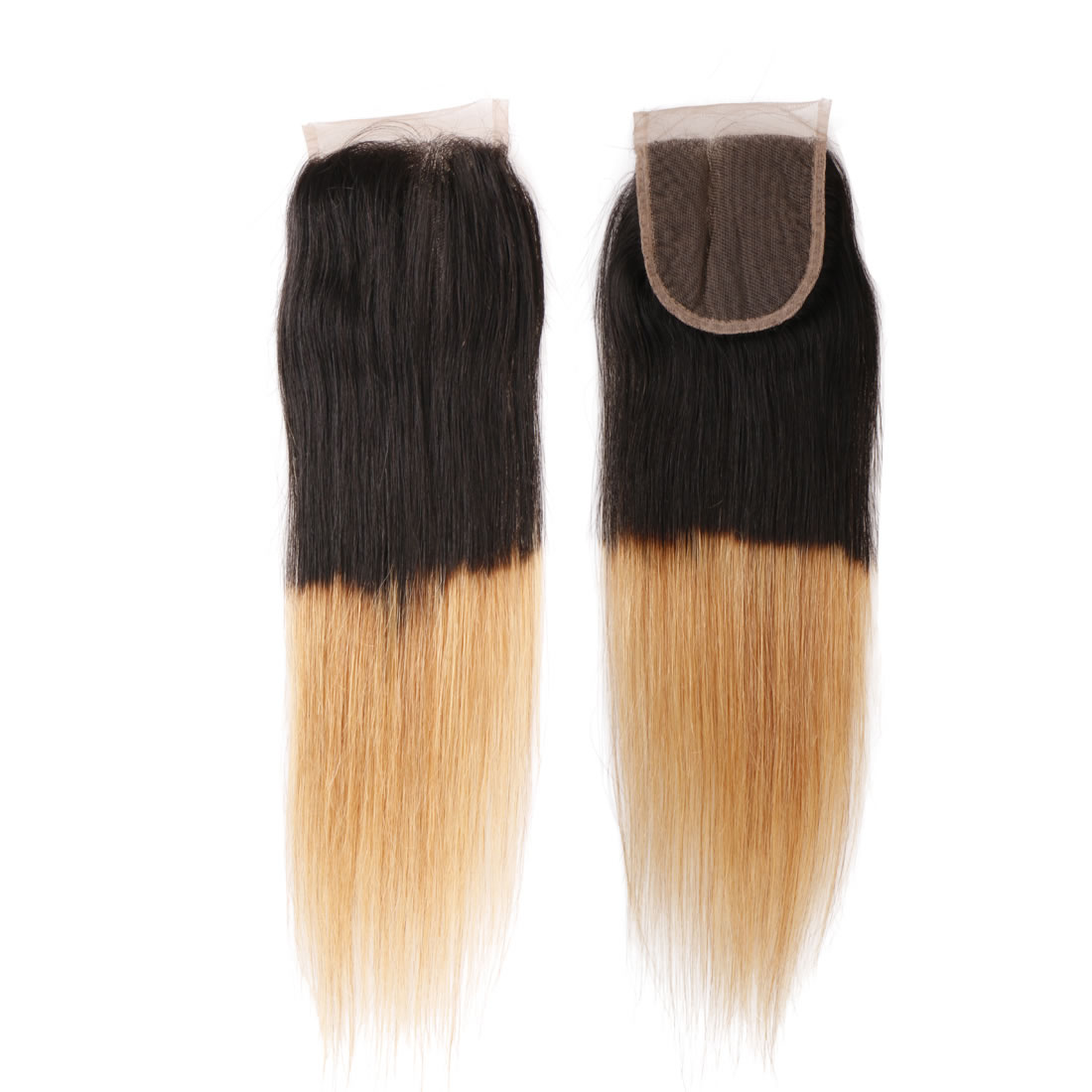 Remy Human Hair Straight 4x4 Free Part Lace Top Closure 10 Inch To