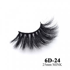 Real mink eyelashes 6D mink lashes 10pairs 3days to prepare 6D-24