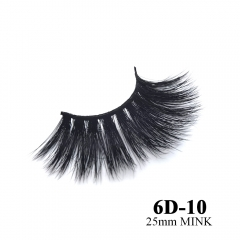 Real mink eyelashes 6D mink lashes 10pairs 3days to prepare 6D-10