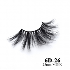 Real mink eyelashes 6D mink lashes 10pairs 3days to prepare 6D-26