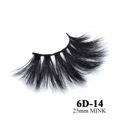 Real mink eyelashes 6D mink lashes 10pairs 3days to prepare 6D-14
