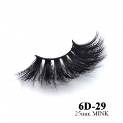 Real mink eyelashes 6D mink lashes 10pairs 3days to prepare 6D-29
