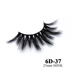 Real mink eyelashes 6D mink lashes 10pairs 3days to prepare 6D-37