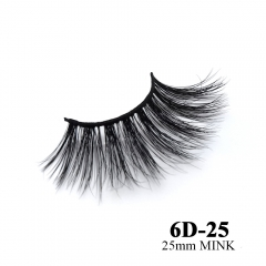 Real mink eyelashes 6D mink lashes 10pairs 3days to prepare 6D-25