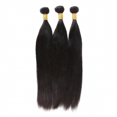 "9pcs bundle deal Straight hair size 14"" to 30""  free shipping free gift"
