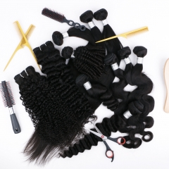 "9pcs bundle deal deepwave size 14"" to 30""  free shipping free gift"